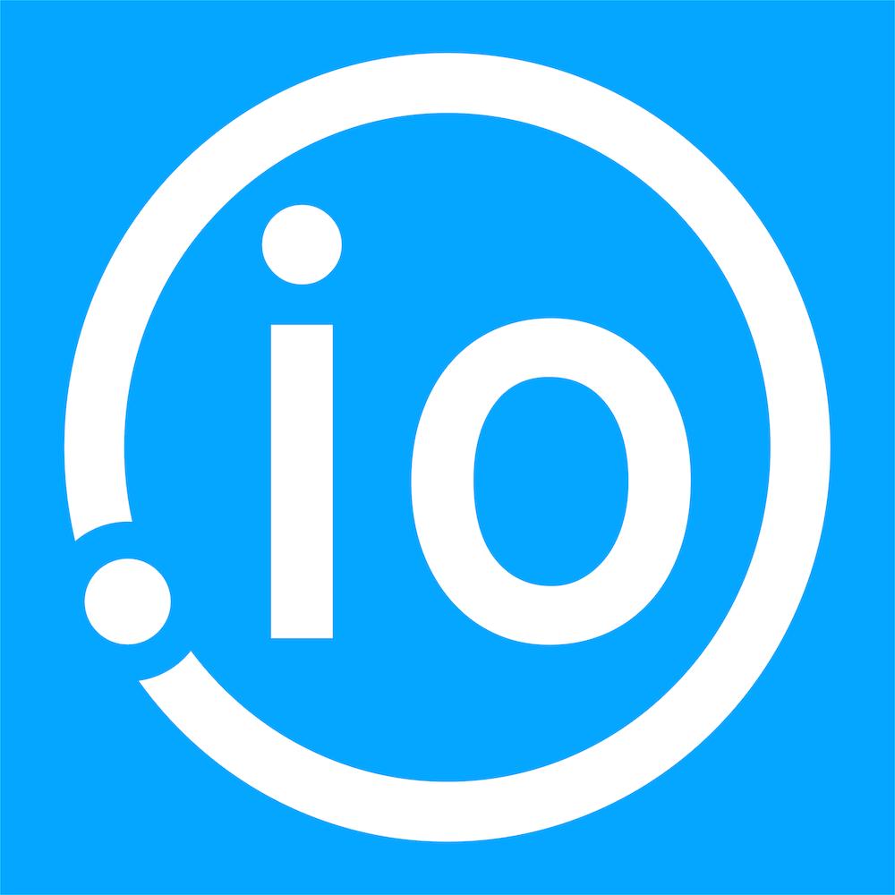 IO Blue Logo